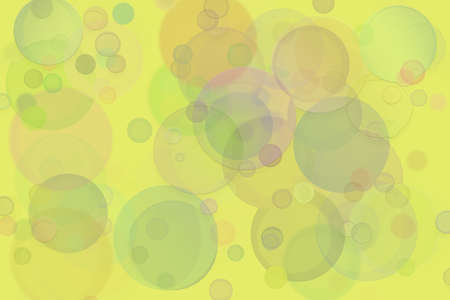 Abstract embossed, soft blend & random circle, ellipse or bubble shape, digital generative art for design texture & background Stock fotó
