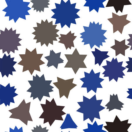 Seamless background abstract geometric star pattern for design. Vector illustration graphic.