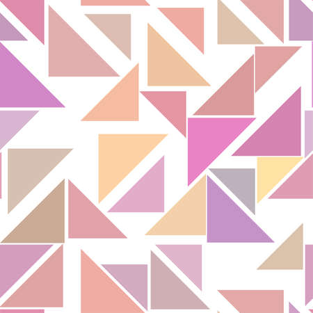 Seamless abstract triangle lines geometric pattern, colorful & artistic for graphic design, catalog, textile or texture printing & background. Vector illustration graphic.