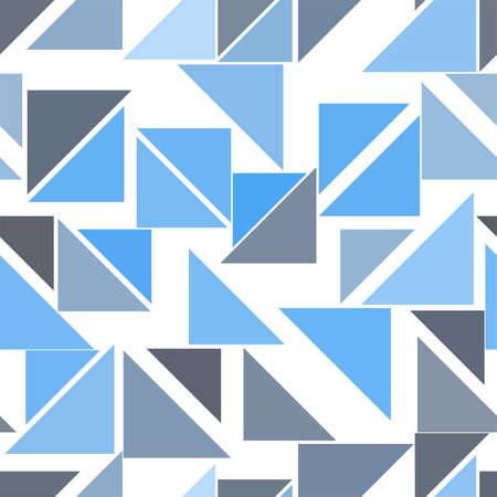 Seamless background abstract geometric triangle lines pattern for design. Vector illustration graphic. Illustration