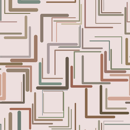 Seamless shape of triangle lines, abstract geometric background pattern. Vector illustration graphic.