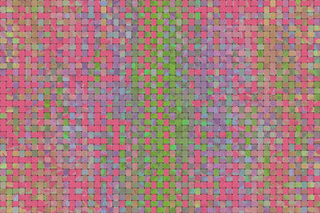 Abstract woven mat pattern illustrations background.