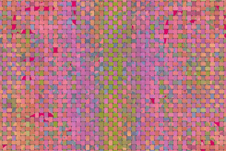 Conceptual background woven mat pattern for design catalog or texture. 版權商用圖片