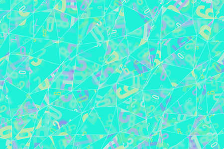 Decorative and pattern of geometric triangle strip illustrations. Good for design texture & background. Stock Photo