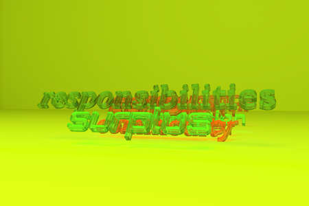 Background abstract, motivation related keywords cloud CGI typography, for design & graphic resource. 3D rendering.
