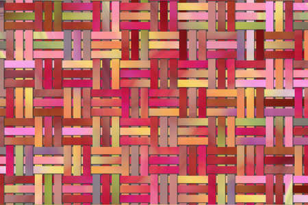 Abstract background with woven mat.