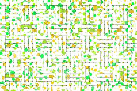 Woven mat illustrations background abstract, rattan texture. 版權商用圖片