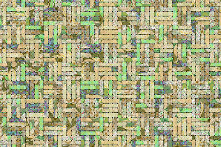 Background for web page, graphic design, catalog or texture, rattan woven mat.