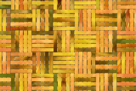 Woven mat illustrations background abstract, rattan texture. Reklamní fotografie
