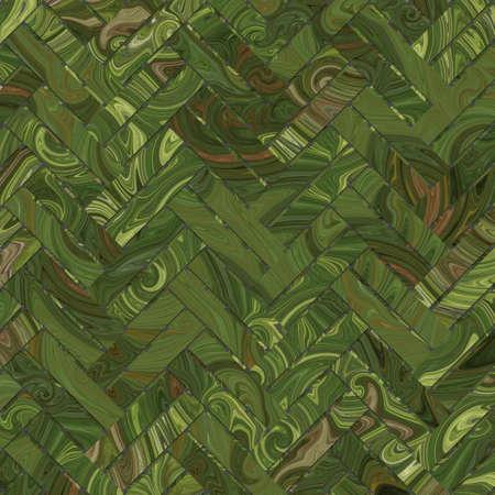 Woven mat or rattan illustrations background abstract, virtual geometric pattern texture. 版權商用圖片