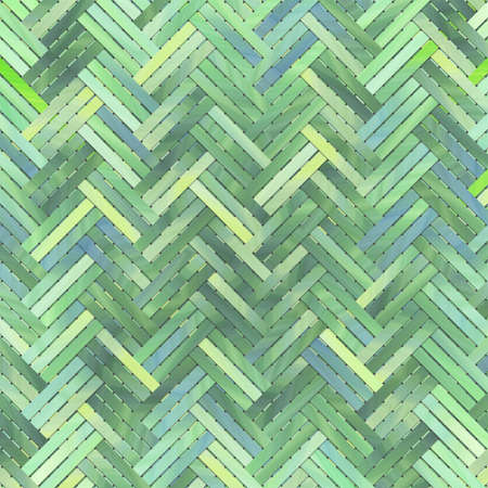 Artistic woven mat or rattan virtual geometric pattern background abstract. Reklamní fotografie