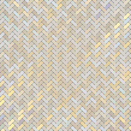 Woven mat or rattan background virtual geometric pattern, for graphic design.