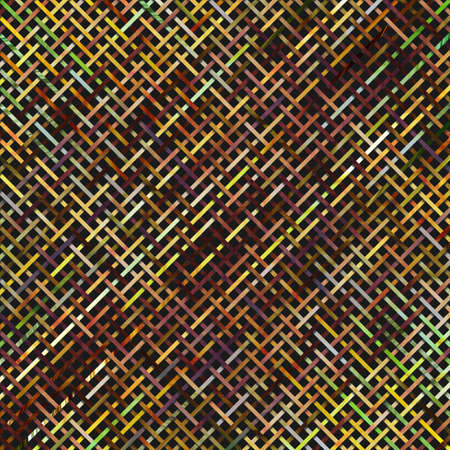 Virtual geometric pattern, abstract illustrations of woven mat or rattan, conceptual. For design background. 版權商用圖片