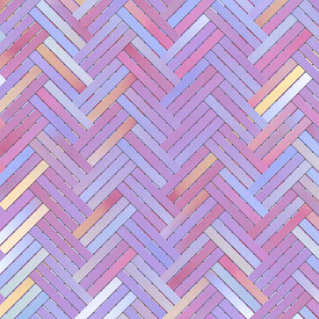 Decorative and virtual geometric pattern woven mat or rattan illustrations. For design texture & background. 版權商用圖片