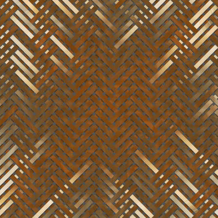 Background for web page, graphic design, catalog or texture, virtual geometric pattern woven mat or rattan. 版權商用圖片