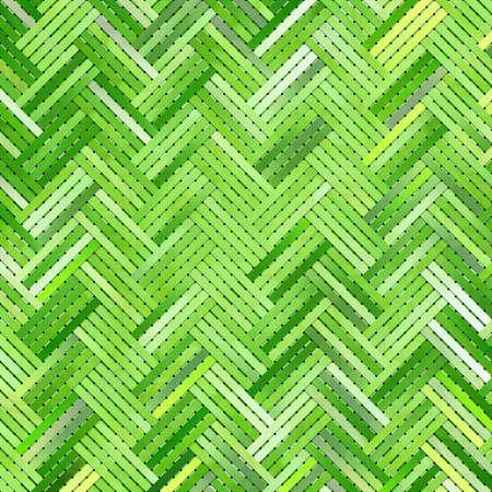 Abstract woven mat or rattan illustrations background,virtual geometric pattern. 版權商用圖片