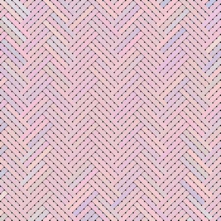 Artistic woven mat or rattan virtual geometric pattern background abstract. 版權商用圖片