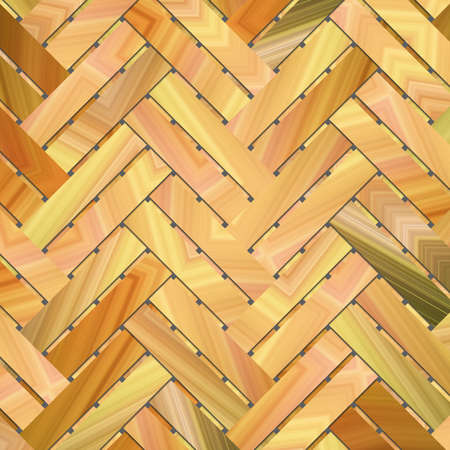 Background or backdrop, woven mat or rattan virtual geometric pattern, for design texture.