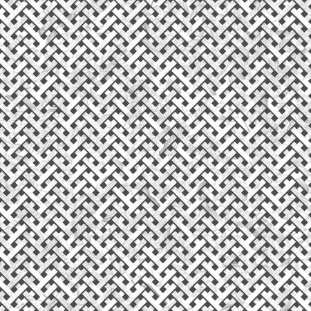 Gray or black and white b&w Texture background virtual geometric pattern. Abstract woven mat or rattan, For graphic resource.