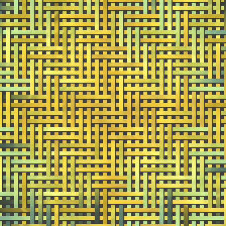 Abstract background with woven mat or rattan, virtual geometric pattern. 版權商用圖片