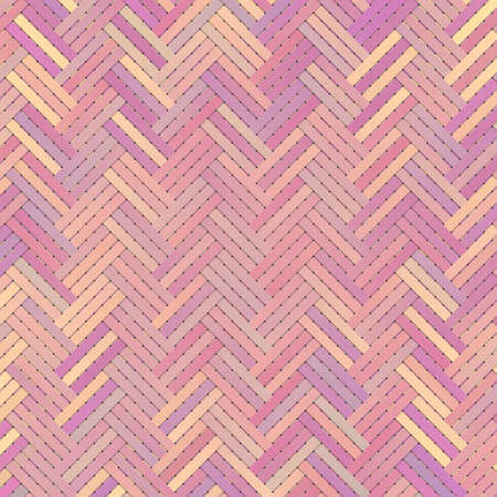 Virtual geometric pattern. Abstract woven mat or rattan. For web page, wallpaper, graphic design, catalog, texture or background. 版權商用圖片