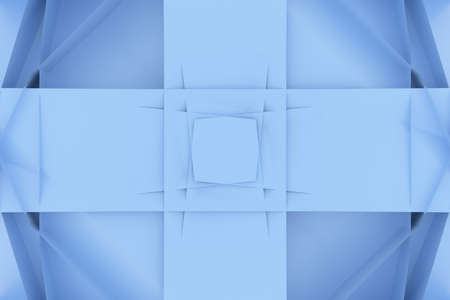 Abstract backdrop random geometric, CGI, for web page, graphic design, texture, background. 3D render. Reklamní fotografie