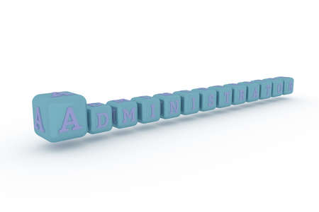 Administrator, ict keyword. Graphic resource, texture or background, for web page or design.