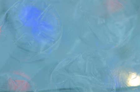 Dreamy blue background. Abstract blur bokeh light defocused. Reklamní fotografie