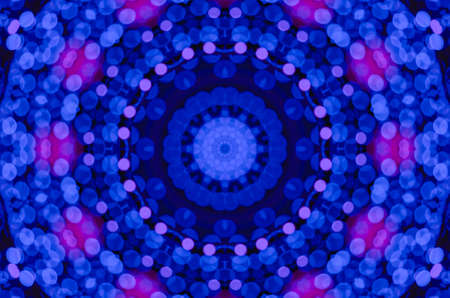 Colorful abstract kaleidoscope dreamy style texture for graphic resources background.