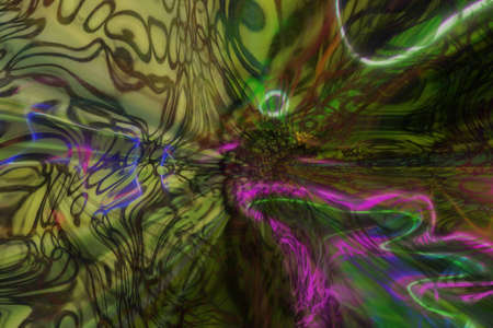 Abstract background with fluid effects, blur dreamy.