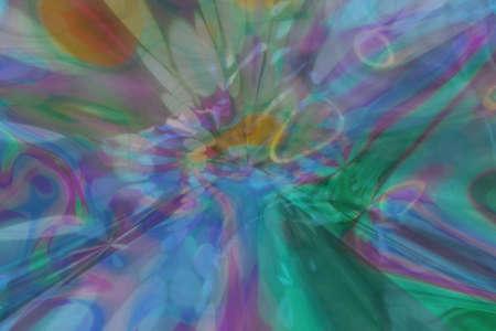 Blur dreamy. Abstract fluid effects generative art background.