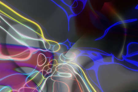 Fluid effects illustrations background abstract, blur dreamy texture. 免版税图像