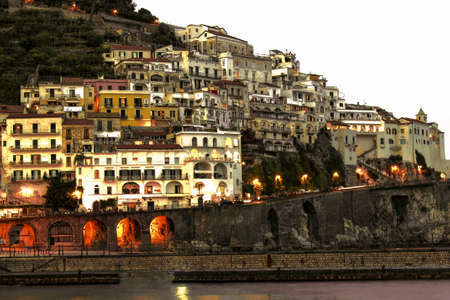 Amalfi Coast Landscape - Italy Editorial