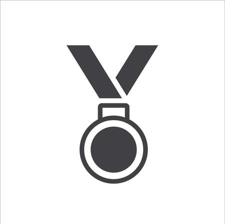 Medal Icon in trendy flat style isolated on white background 일러스트