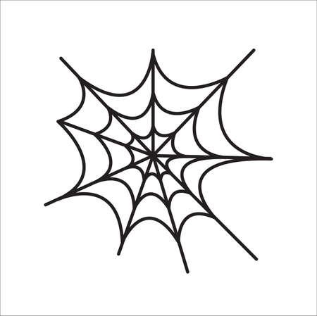 Spider net vector - Vector