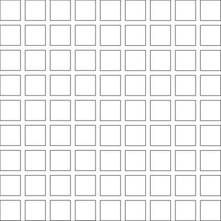 Abstract square seamless pattern. Design geometric mosaic texture 矢量图像