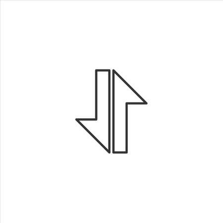 Mobile data icon symbol vector on white background 矢量图像