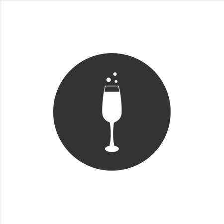 Champagne icon sign symbol vector