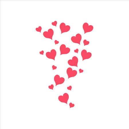 Heart symbol vector on white background 免版税图像 - 157173822