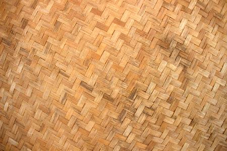 Rattan texture handcraft bamboo background
