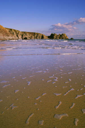 porthcurno: PORTHCURNO BEACH, CORNWALL, UK