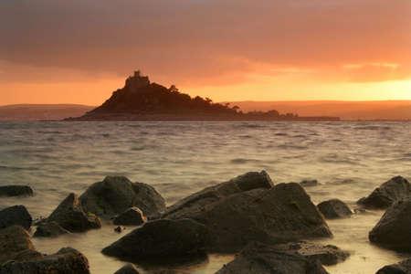 mounts: ST MICHAELS MOUNT, CORNWALL, UK - 4568 Stock Photo