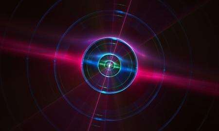 apophysis: Terminator Eye - abstract background