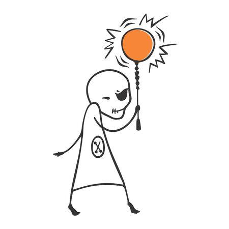 crafty: Kliasnik- Off the sun like a lamp Illustration