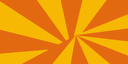 Sun burst Orange and yellow - vector background