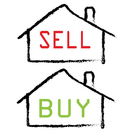 property sell and buy Stock Vector - 17955400