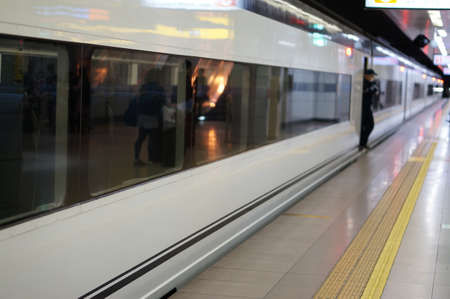 bussiness man: Japan Train