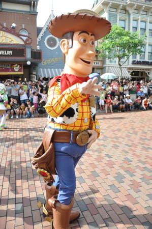 Woody in China parade