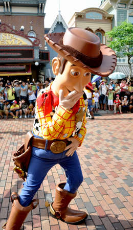 Woody from Toy story is the famous cartoon from disney.