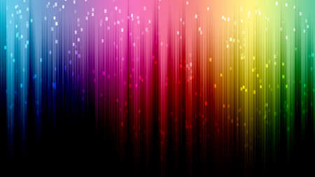 Rainbow line bokeh abstract background photo